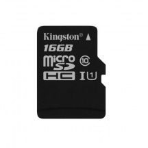 Paměťová karta Kingston microSDHC 16 GB, Class 10